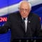 Democratic presidential candidate Sen. Bernie Sanders, I-Vt., gestures during the CNN Democratic Presidential Primary Debate with Hillary Clinton at the Brooklyn Navy Yard on Thursday, April 14, 2016 in New York. (AP Photo/Seth Wenig)