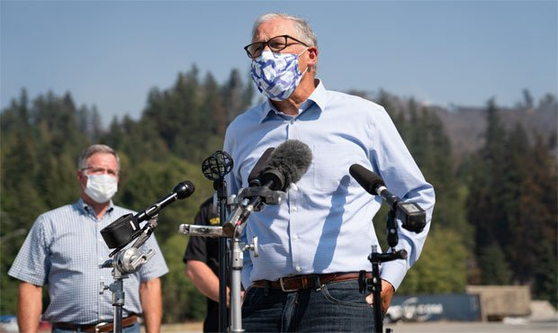 Jay Inslee wildfires washington