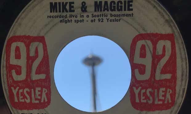 """Mike & Maggie's 1962 recording of Chris Todd's """"Wasn't That A Mighty Day When The Needle Hi..."""