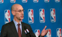 NBA Commissioner Adam Silver. (File, AP/Mary Altaffer)