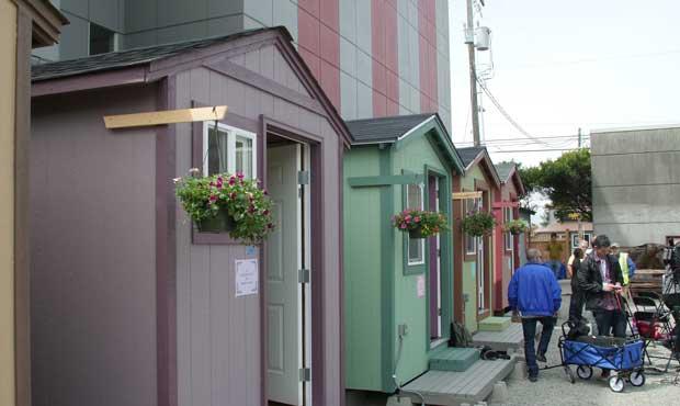 tiny houses, homeless plan