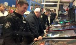 pinball with police