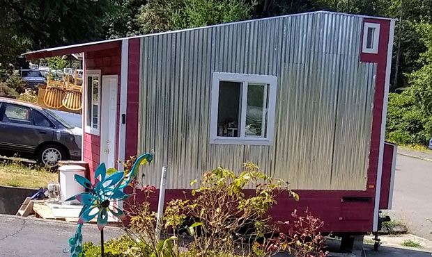 Tiny home vs county: Effort to help homeless runs afoul of regulations