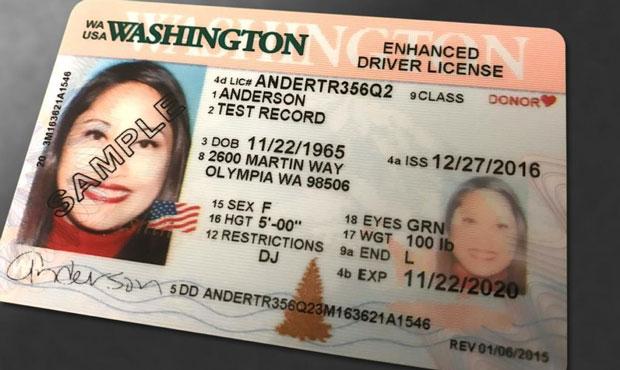 REAL ID, license renewal, Washington...