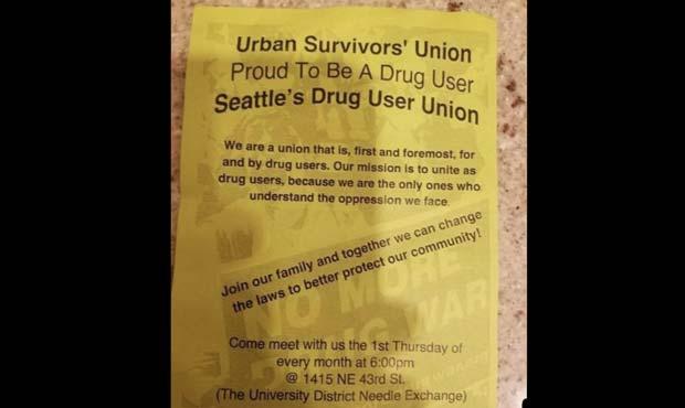 drug users union...