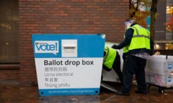 Ballots, election day, Seattle primary