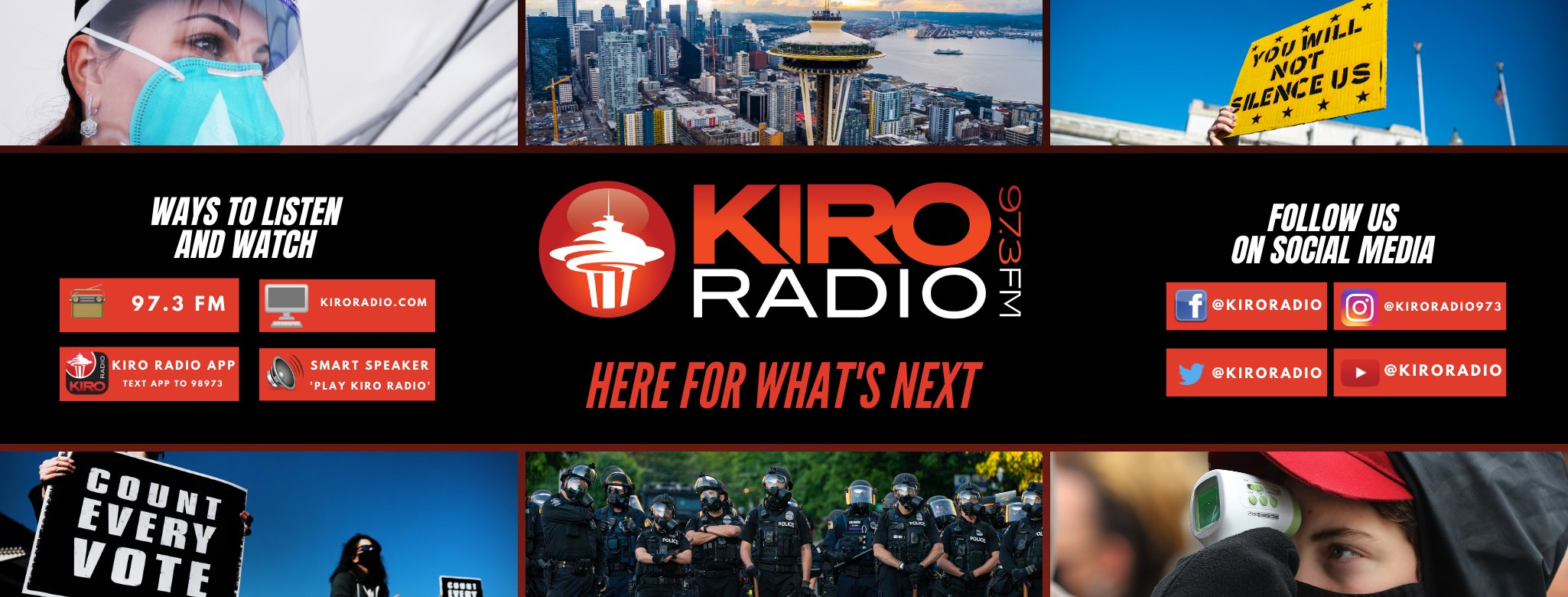 KIRO Radio here for what is next