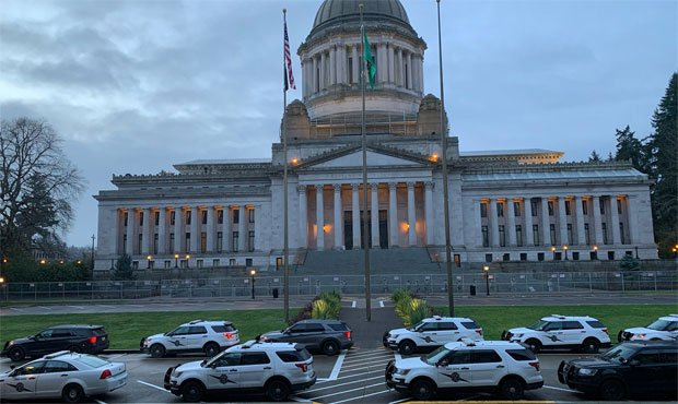 Olympia Capitol, security