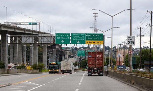 Lower Spokane Street Bridge...
